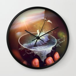 theine II Wall Clock