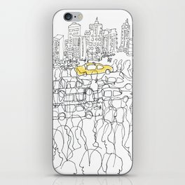 NYC yellow cab iPhone Skin