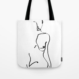 abstract nude Tote Bag