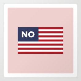 USA NO Art Print