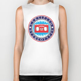 Certified Stereotypes, Patriotic Version Biker Tank