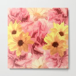 Summer Day Floral Metal Print