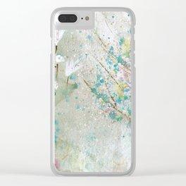 Secret Garden Art Clear iPhone Case