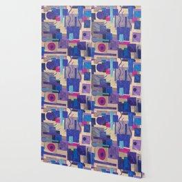Purple Doodle Wallpaper