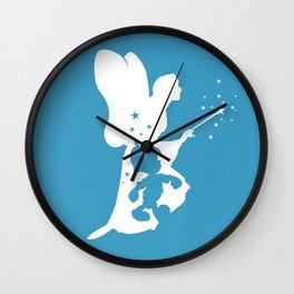 Pinocchio art film inspired Wall Clock