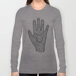 Hamsa / Hand Taurus Long Sleeve T-shirt