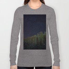 Wheat Field Planetarium Long Sleeve T-shirt