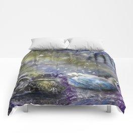 Yuletide Swan Comforters