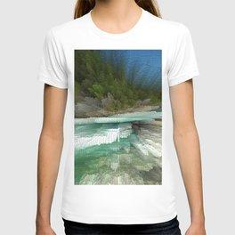 Abstract Landsape T-shirt