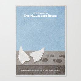 Der Himmel uber Berlin (Wings of Desire) Canvas Print