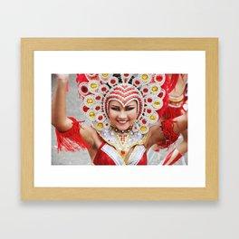 Tiny Dancer - Carnaval 2015 Framed Art Print