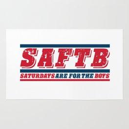 SAFTB - SATURDAYS ARE FOR THE BOYS Rug