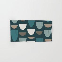 Turquoise Bowls Hand & Bath Towel