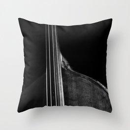 Bass 5 Throw Pillow