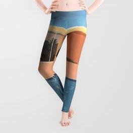 Hockney A Bigger Splash Leggings
