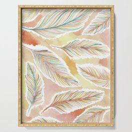 Feathers Serving Tray