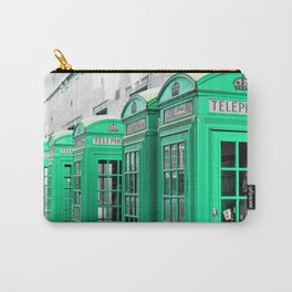 Reed Booths Turned Seafoam Carry-All Pouch
