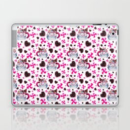 Santa Candy Cup Laptop & iPad Skin