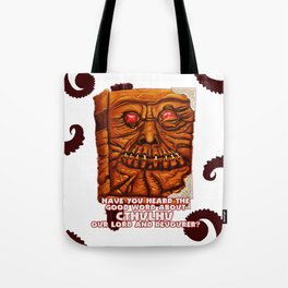 Necronomicon Evangelist Tote Bag