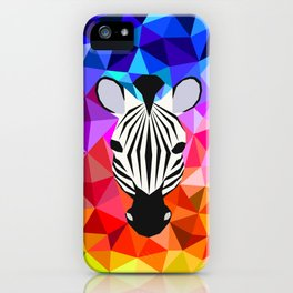 Zebra Dazzle iPhone Case