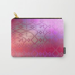 Summer of Retro (pretty pink) Carry-All Pouch
