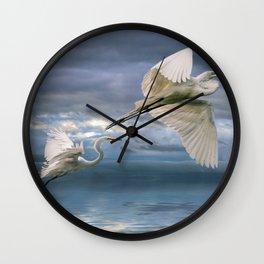 Night Flight Wall Clock