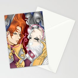 Eclipse Music Stationery Cards