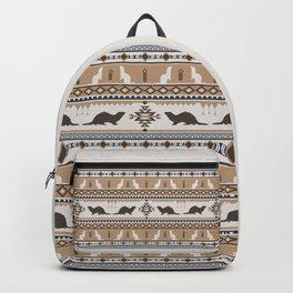 Boho Animals | Ferret tan Backpack