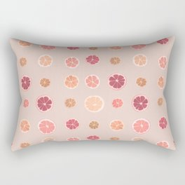 Lemons limes and oranges Rectangular Pillow