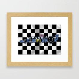 Tyrrell P34 Framed Art Print