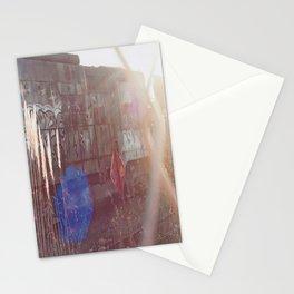 Through The Gate-Film Camera Stationery Cards