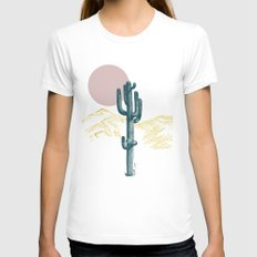 hace calor? White X-LARGE Womens Fitted Tee