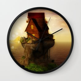 Cast Away Wall Clock