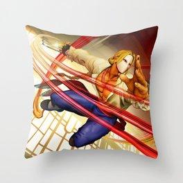 Vega Cool Throw Pillow