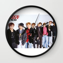 exo love shot teaser Wall Clock