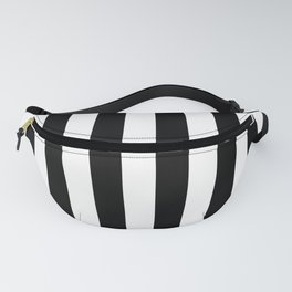 Parisian Black & White Stripes (vertical) Fanny Pack