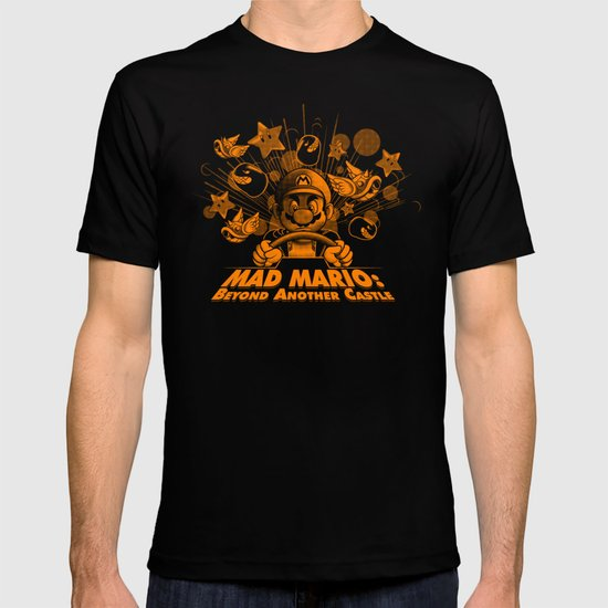 Mad Mario: Beyond Another Castle T-shirt