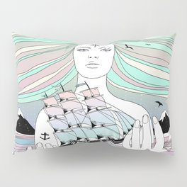 Journey to A Greater Existence (Your Life On Your Hands) Pillow Sham