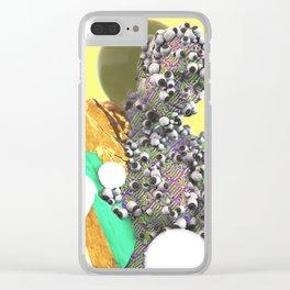 DREAM ROLL Clear iPhone Case