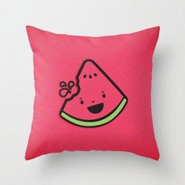 WATERMELON! Throw Pillow