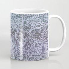 Detailed square, grey'n wedgwood Mug