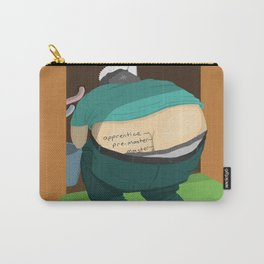 school of plumbers - Lesson one: ass crack Carry-All Pouch