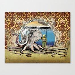 The Octophant Canvas Print