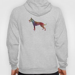 Dutch Shepherd Dog in watercolor Hoody