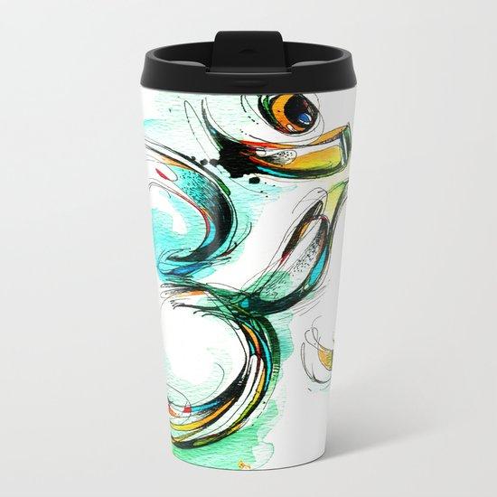 Ohm Metal Travel Mug