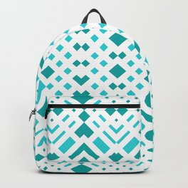 Geometric Webbing Backpack