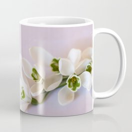 Snowdrops - First Spring Flowers Coffee Mug