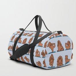 Cocker Spaniel  Yoga Duffle Bag