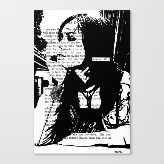 Another Story Canvas Print