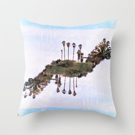 Landscapes c2 (35mm Double Exposure) Throw Pillow